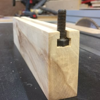 Home made T slot